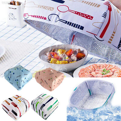 F979 Storage Aluminum Foil Food Cover Foldable Heat Preservation Insulation Tool