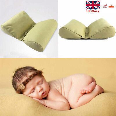 Wedge shaped Posing Pillow for Newborn Photography Props Butterfly Baby Cushion
