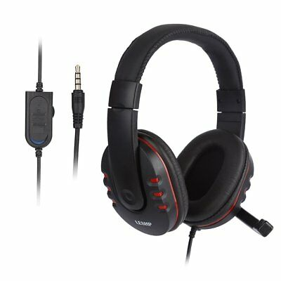 Universal Computer PC Headband Headsets Headphones With Mic 3.5mm Wired