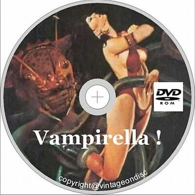 Vampirella ! Comic on Dvd Rom 1969-1988 Issues 1-113