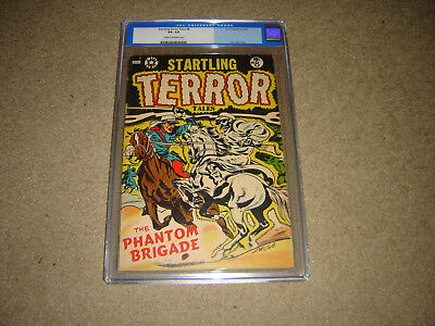Startling Terror Tales # 8 L.b. Cole Cover Cgc Graded -Vg-3.5 In Hard Case