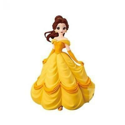 Banpresto Disney Characters Crystalux Beauty and the Beast Belle JAPAN OFFICIAL