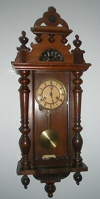 A fully working, pretty Victorian Black Forest Clock with wonderful chimes