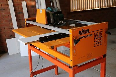 Triton WorkCentre Mk3 Saw Cutting Table and Router Table