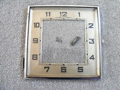 Square Clock Bezel and Glass 15cm