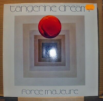 Tangerine Dream	- Force Majeure	1979 Germany Virgin Records	200347-270 Lp