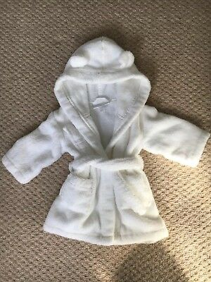 BNWOT Little White Company Bear Bath Robe / Dressing Gown