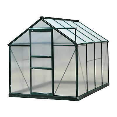 Outsunny 6 Ft. W x 8 Ft. D Greenhouse