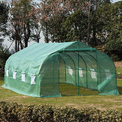 Outsunny 10 Ft. W x 20 Ft. D Greenhouse