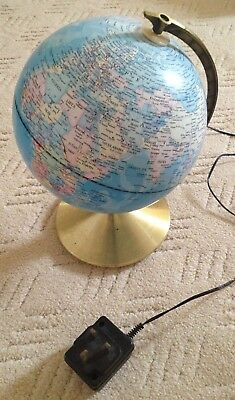 Celestial Globe desk ornament.with internal light