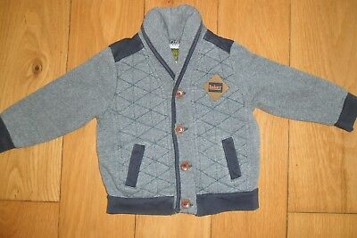 Cute Boys Ted Baker Padded Cardigan Age 18 - 24 Months