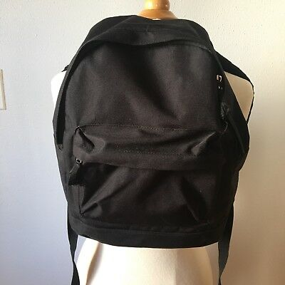Small Backpack Black School Bag Kids Preschoolers