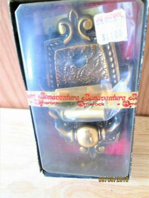 Vintage Sealed Amerock Corp Regency Bronze Door Knocker/Viewer C-8860-Rb Japan