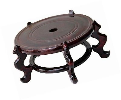 Beautiful Hand Craft Rosewood Oriental Vase Stand 9 2904