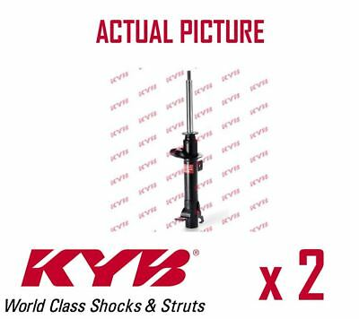 2 x FRONT AXLE SHOCK ABSORBERS PAIR STRUTS SHOCKERS KYB OE QUALITY 333400