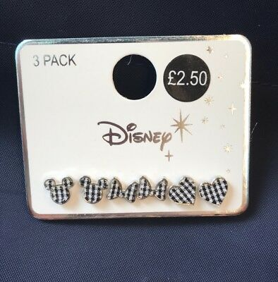 BNWT Disney Mickey Mouse Minnie Mouse earrings Primark