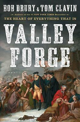 Valley Forge by Bob Drury Hardcover Book Free Shipping!