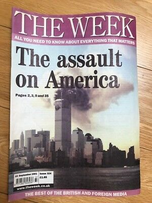 The Week Magazine collection, News magazine collection from 1998-2015