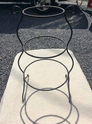 Longaberger Wrought Iron Mixing Bowl Stand