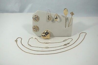 14KT Gold Vintage & New 13.2 Gram Scrap or Not 8 Piece Lot*NO RESERVE AUCTION*