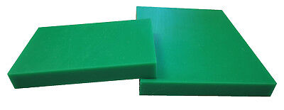 Polyethylene High Density Plastic Wear Plate Block Sheet Hdpe Green 20Mm Thick