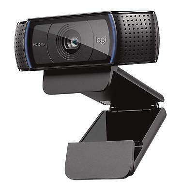 NEW! Logitech C920 Webcam 30 Fps Usb 2.0 15 Megapixel Interpolated 1920 X 1080 V