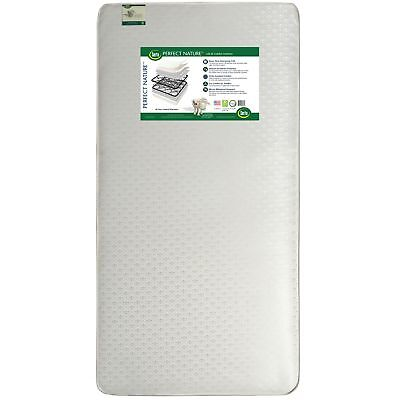 Serta Perfect Nature Crib and Toddler Mattress White