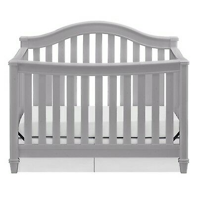 Thomasville Kids Auburn 4-in-1 Convertible Crib Pebble Gray Female