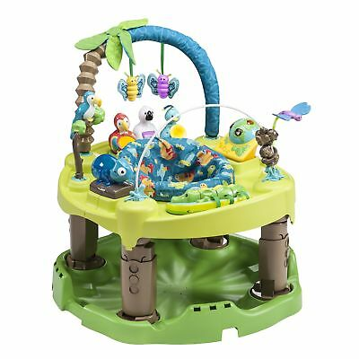 Evenflo Exersaucer Triple Fun Entertainer, Life In The Amazon Gray
