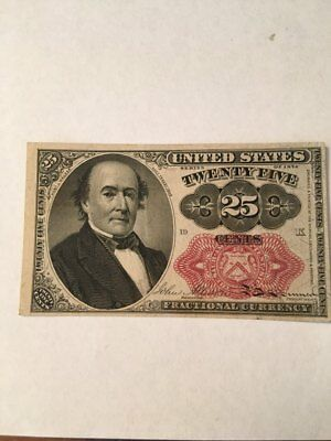 1874 Fractional Currency 25 Cent