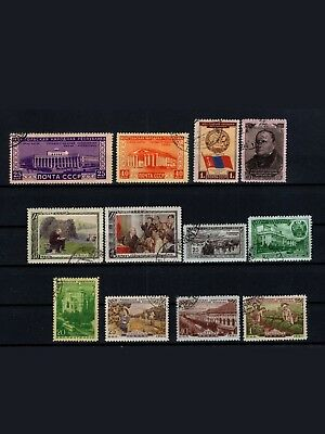 Russia, 1951, Stanley Gibbons,used, full sets, CATALOGUE VALUE 108 €