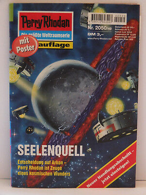 """Perry Rhodan 2050 """"Seelenquell"""" mit Poster"""