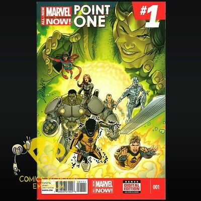 ALL NEW Marvel Now POINT ONE #1 1st Full App. KAMALA KHAN Ms Marvel NM- R103
