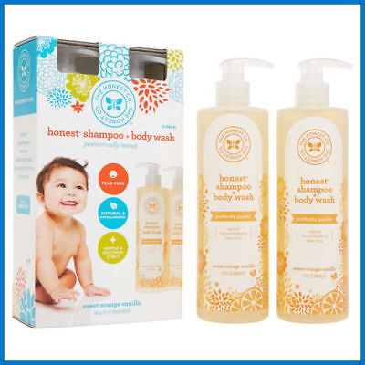New The Honest Company Shampoo and Body Wash 17 Fl. oz, 2-pack All-4-Charity