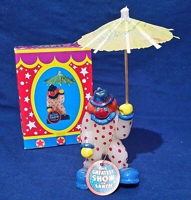 Vintage Ringling Bros. And Barnum & Bailey Circus Clown Candle 1987 New In Box