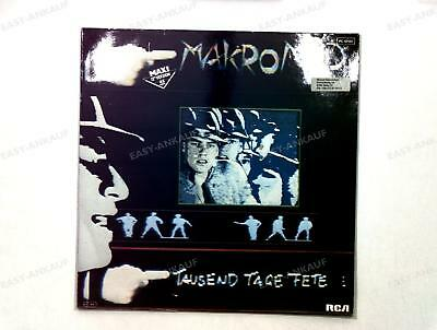 Makromad - Tausend Tage Fete GER Maxi 1984 /4