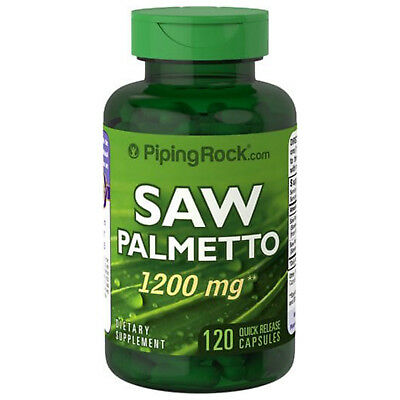 Saw Palmetto 1200 mg 120 Cápsulas