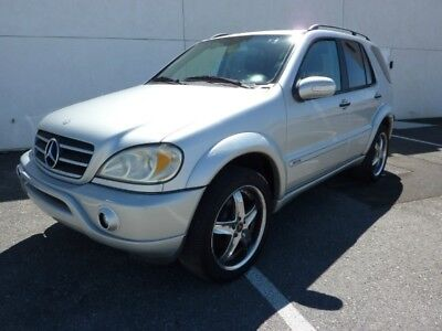 2002 Mercedes-Benz M-Class  2002 MERCEDES ML500 AWD 128,000 MILES A GREAT VEHICLE AT A GREAT PRICE ALL POWER