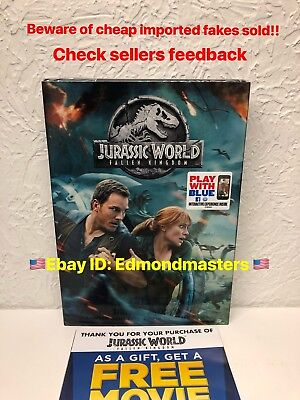 Jurassic World Fallen Kingdom 2018 Authentic Release, beware of cheap fakes!