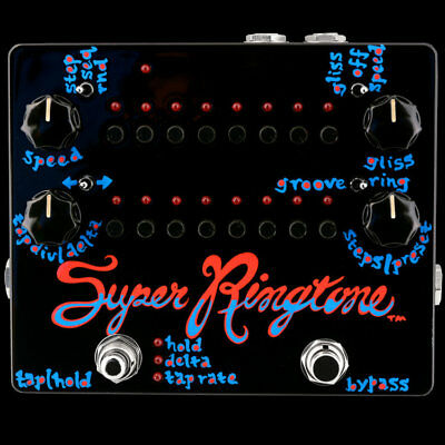 Z.VEX ZVex Effects Pedal, Hand painted SUPER RINGTONE, Brand New in Box