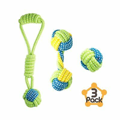 Petagon Puppy Toys, Dog Toys for Small Dogs (3 PCS Value Pack) - Tough & Dura...