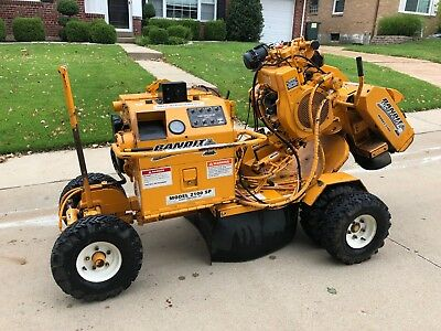 2005 Bandit Stump Grinder 2100 Wireless Remote Excellent Condition