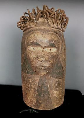 Old Tribal Bakongo Nail Fetish    Mask            ---  Congo