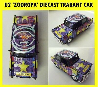 'U2'  Zooropa Diecast Trabant - Fantastic Condition