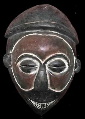 Outstanding  Tribal  Yaka  Mask            ---  Congo
