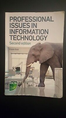 Professional Issues in Information Technology by Frank Bott (Paperback, 2014)