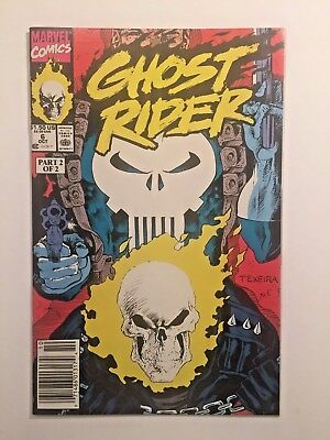 Ghost Rider #6 (Oct 90) - Part 2 of Ghost Rider takes on The Punisher