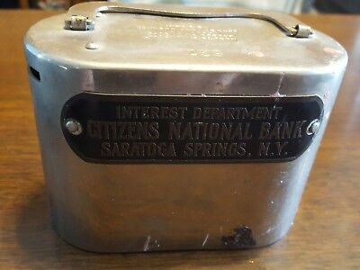 Rare Bankers Service Corp CITIZENS NATIONAL BANK Promotional SARATOGA SP N.Y.
