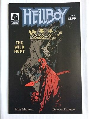 HELLBOY The Wild Hunt 2 First Appearance of NIMUE the Blood Queen VF/NM