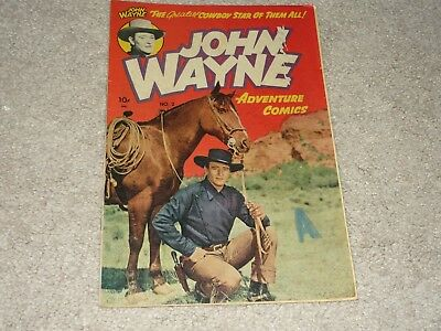 JOHN WAYNE ~ #2 - Toby Press..~ 1950 ~ Reader Copy